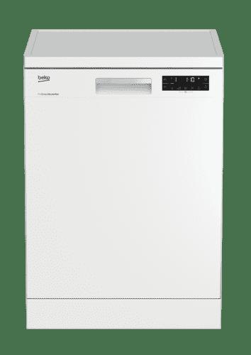 BEKO DFN28423W, biela umývačka riadu
