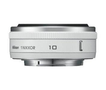 NIKON 1 NIKKOR 10MM F2.8 WHITE