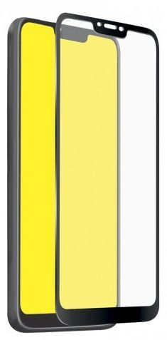 SBS Full Cover tvrdené sklo pre Motorola Moto G7 Power, čierna
