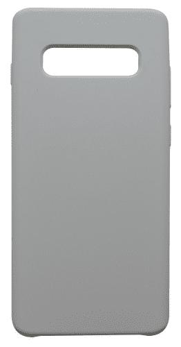 Mobilnet silikónové puzdro pre Samsung Galaxy S10+, biela