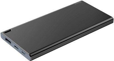 Baseus Choc Mini powerbanka 10 000 mAh, čierno-sivá