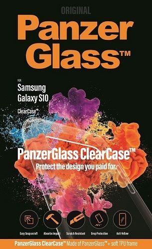 PanzerGlass ClearCase puzdro pre Samsung Galaxy S10, transparentná