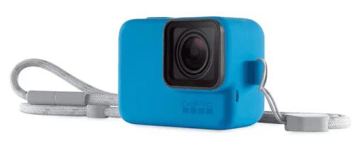 GoPro Silikónový obal s pútkom, modrá