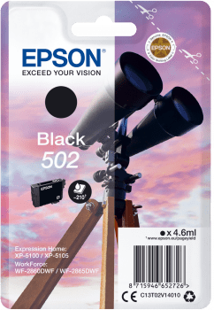 EPSON singlepack 502 čierny