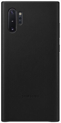 Samsung Leather Cover pre Samsung Galaxy Note10+, čierna