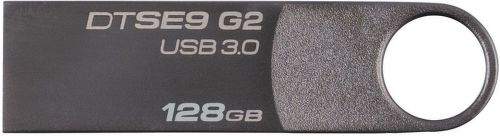 Kingston DataTraveler SE9 G2 Premium 128GB sivý