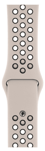 Apple Watch 44 mm Nike športový remienok S/M a M/L, pieskovo béžový/čierny