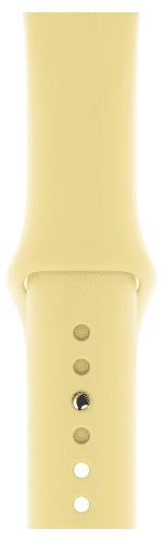 Apple Watch 44 mm športový remienok S/M a M/L, krémovo citrónový