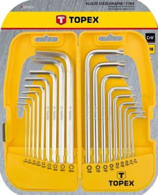 TOPEX 35D953 sada imbus torx 18 ksTOPEX 35D953 sada imbus torx 18 ks