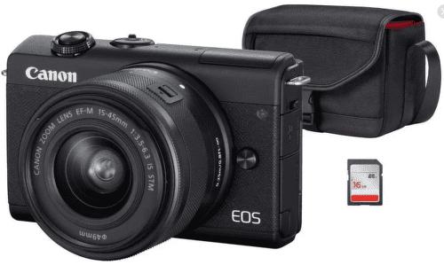 Canon EOS M200 čierna Value Up Kit + Canon EF-M 15-45mm IS STM