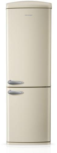 Concept LKR-7360CR, krémová kombinovaná chladnička