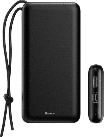 Baseus Mini Q PD Quick powerbanka 20000 mAh, čierna