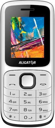 Aligator D210 čierno-biely