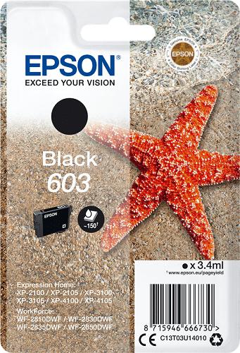Epson 603 C13T03U14010 čierna