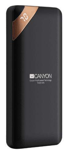 Canyon CNE-CPBP10B 10 000 mAh powerbanka, čierna