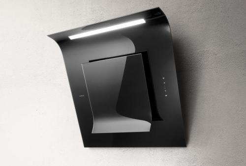 Elica SINFONIA BL/F/80, čierny nástenný digestor