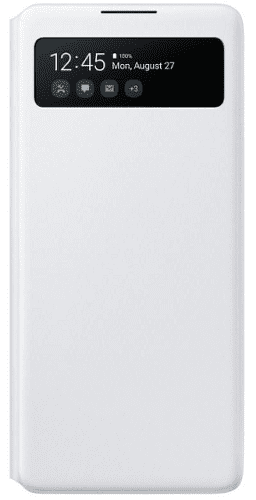 Samsung S View Wallet Cover pre Samsung Galaxy S10 Lite, biela
