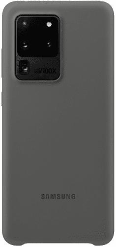 Samsung Silicone Cover pre Samsung Galaxy S20 Ultra, sivá