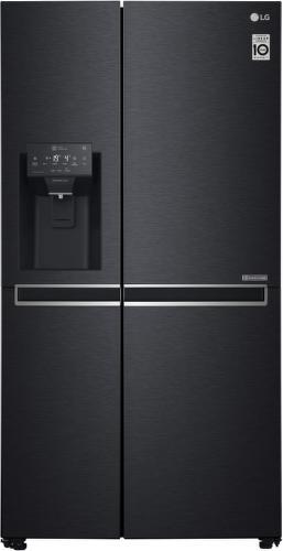 LG GSL761MCZZ, oceľovo čierna americká chladnička