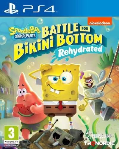 SpongeBob SquarePants: Battle for Bikini Bottom (Rehydrated) - PS4 hra