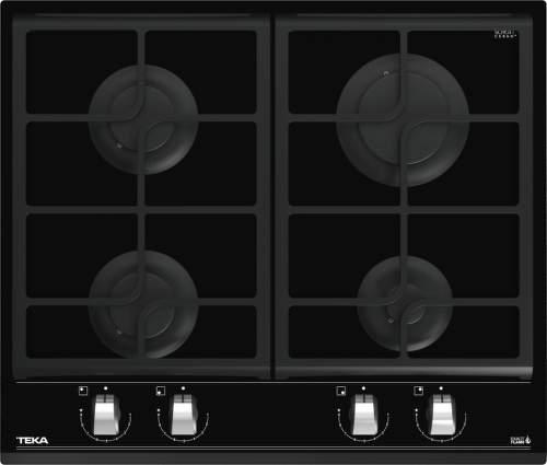Teka GZC 64300, čierna plynová varná doska
