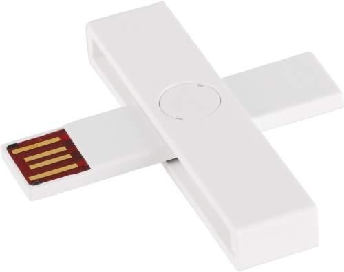 +iD WHITE smart card reader