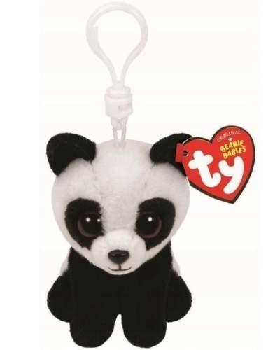 BAMBOO panda 8,5 cm plyšová hračka