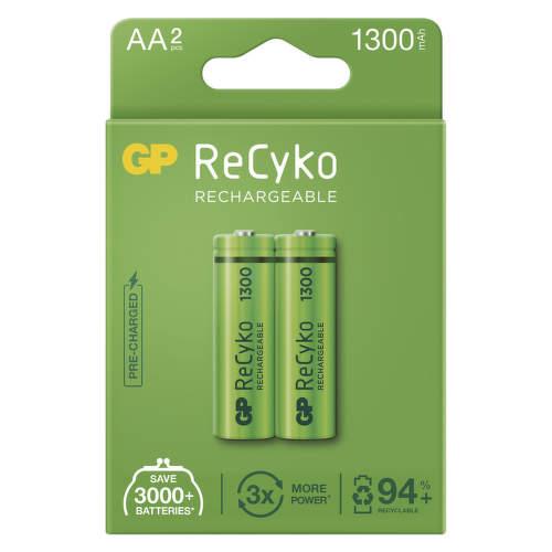 GP ReCyko HR03 (AAA) 1300 mAh, 2 ks