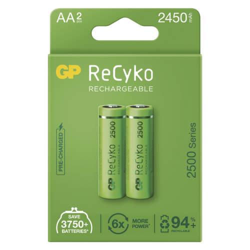 GP ReCyko HR06 (AA) 2450 mAh, 2 ks