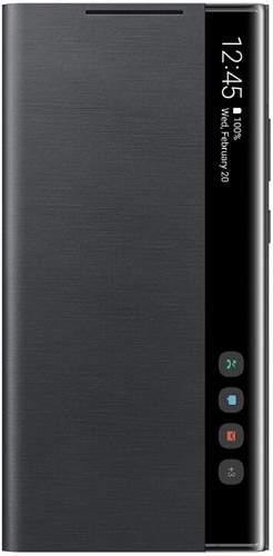 Samsung Clear View knižkové puzdro pre Samsung Galaxy Note20 Ultra 5G, čierna