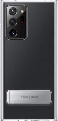 Samsung Clear Cover puzdro so stojančekom pre Samsung Galaxy Note20 Ultra 5G, transparentná