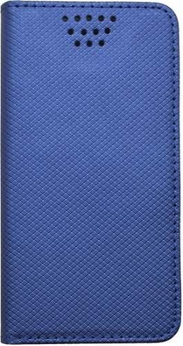 """Mobilnet univerzálne knižkové puzdro pre uhlopriečku 4,5""""-5"""", modrá"""