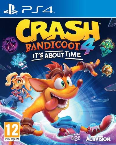Crash Bandicoot 4: It's About Time - PS4 hra