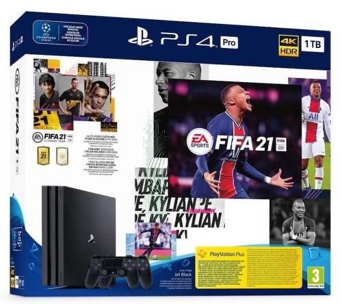 Sony PlayStation 4 Pro 1TB Gamma Chassis + FIFA 21 + 2x DualShock 4
