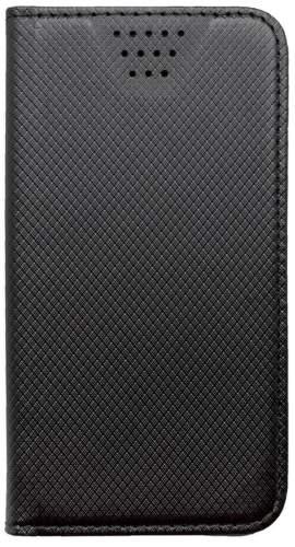 """Mobilnet knižkové puzdro 4,5-5,0"""" čierna"""