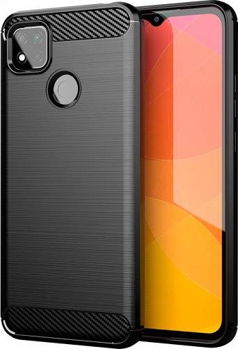 Winner Carbon puzdro pre Xiaomi Redmi 9c, čierna
