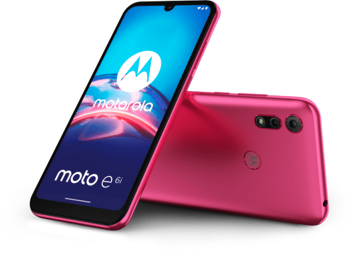 Motorola Moto E6i 32 GB ružový