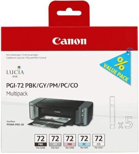 Canon PGI-72 PBK/GY/PM/PC/CO Multi Pack