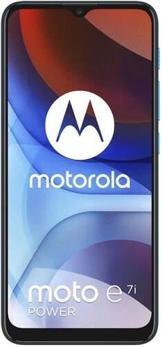 Motorola E7i Power modrý