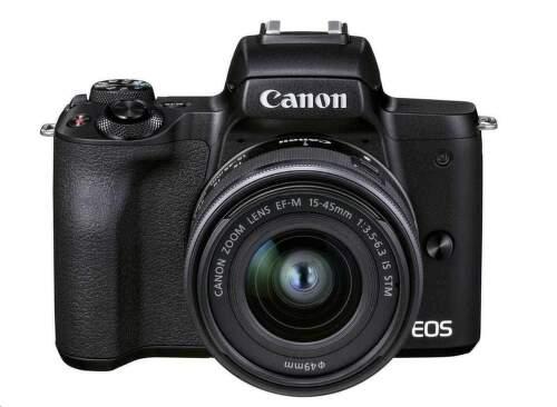 Canon EOS M50 Mark II Premium Live Stream Kit čierna