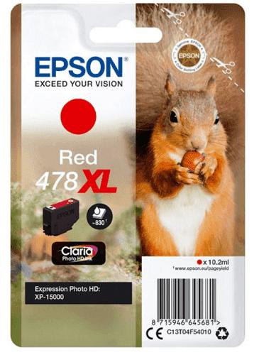Epson 478 XL červená
