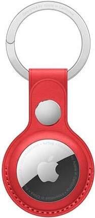 Apple AirTag kožená kľúčenka (PRODUCT)RED