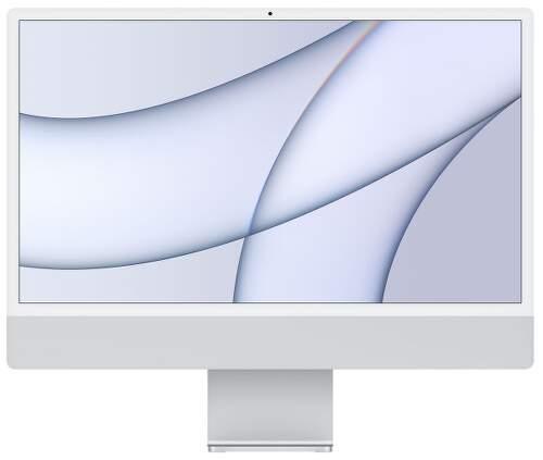 "Apple iMac 24"" (2021) 4,5K Retina M1 / 7-jadrové GPU / 8 GB / 256 GB MGTF3SL/A strieborný"