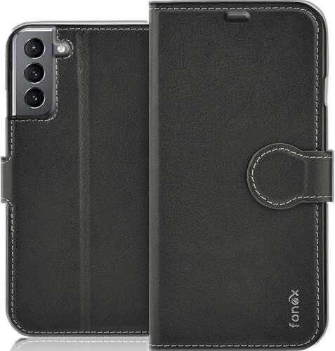 Fonex Identity knižkové puzdro pre Samsung Galaxy S21 čierna