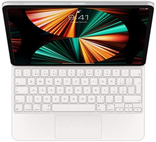 """Apple Magic Keyboard CZ pre iPad Pro 12.9"""" 2021 MJQL3CZ/A biela"""