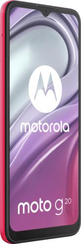 Motorola Moto G20 64 GB červená