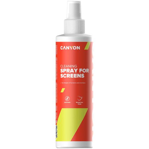 Canyon CNE-CCL21 čistiaci sprej na obrazovky, 250 ml