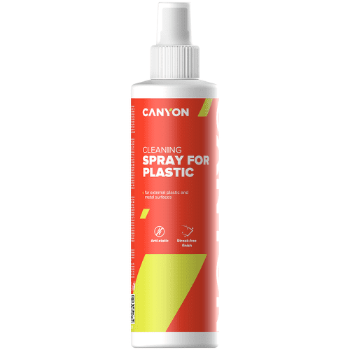 Canyon CNE-CCL22 čistiaci sprej na plastové povrchy, 250 ml