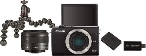 Canon EOS M200 čierna + EF-M15-45 + Live Streaming Kit