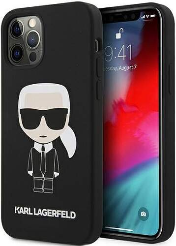 Karl Lagerfeld puzdro pre Apple iPhone 12/12 Pro čierna